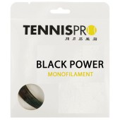 CORDAJE TENNISPRO BLACK POWER (12 METROS)