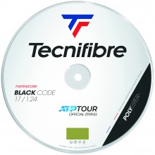BOBINA TECNIFIBRE BLACK CODE LIMA (200 METROS)