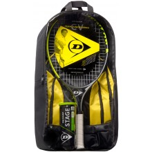 KIDS PACKAGE DUNLOP CV TEAM 25 (RAQUETA 25 JUNIOR + MOCHILA + BOTE DE 3 PELOTAS STAGE 3 GREEN)