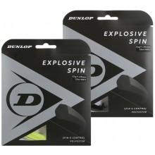 CORDAJE DUNLOP EXPLOSIVE SPIN (12 METROS)