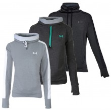 SUDADERA UNDER ARMOUR MUJER FEATHERWEIGHT FLEECE FUNNEL
