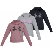 SWEAT UNDER ARMOUR FEMME COTTON FLEECE LOGO