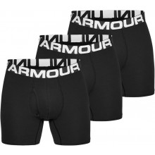 PACK DE 3 BOXERS UNDER ARMOUR CHARGED ALGODÓN 6""