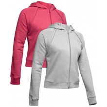 SUDADERA CON CAPUCHA UNDER ARMOUR ZIPPE MUJER RIVAL FLEECE
