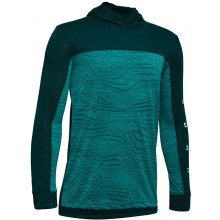 SUDADERA UNDER ARMOUR CON CAPCUHA JUNIOR RELAY