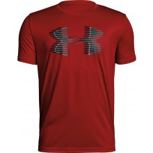 CAMISETA JUNIOR UNDER ARMOUR TECH BIG LOGO SOLID
