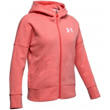 SUDDERA UNDER ARMOUR JUNIOR NIÑA RIVAL FULL ZIP