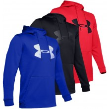 SWEAT UNDER ARMOUR A CAPUCHE BIG LOGO GRAPHIC