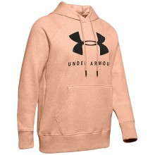SUDADERA UNDER ARMOUR MUJER RIVAL FLEECE SPORTSTYLE GRAPHIC