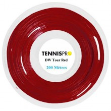 BOBINA TENNISPRO TOUR RED (200 METROS)