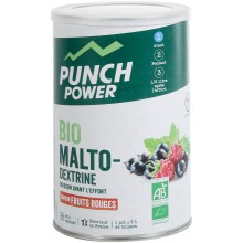 BOTE ANTIOXIDANTE PUNCH POWER BIOMALTODEXTRINE FRUTOS ROJOS (500 G)