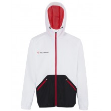 CHAQUETA C/CAPUCHA TECNIFIBRE FLASH LIGHT CLUB JUNIOR