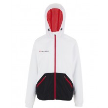 CHAQUETA C/CAPUCHA TECNIFIBRE FLASH LIGHT CLUB JUNIOR NIÑA