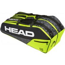 RAQUETERO DE TENIS HEAD CORE 6R COMBI