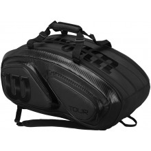 RAQUETERO WILSON TOUR V 15 BLACK PACK (THERMO)
