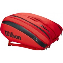 SAC DE TENNIS WILSON FEDERER DNA 12 RED