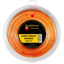 BOBINA KIRSCHBAUM SUPER SMASH NARANJA (200 METROS)