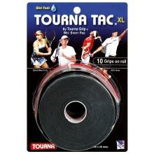 10 SOBREGRIPS TOURNA TAC XL NEGRO