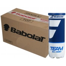 CAJA DE 24 BOTES DE 3 PELOTAS BABOLAT TEAM ALL COURT