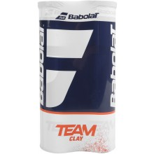 BIPACK DE 4 PELOTAS BABOLAT TEAM CLAY COURT