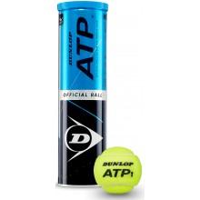 TUBO DE 4 PELOTAS DUNLOP ATP