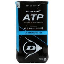 BIPACK DE 4 PELOTAS DUNLOP ATP CHAMPIONSHIP