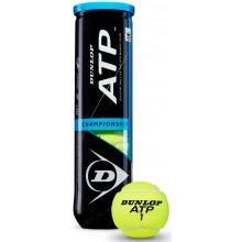 BOTE DE 4 PELOTAS DUNLOP ATP CHAMPIONSHIP