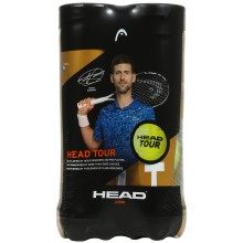 BIPACK DE 4 PELOTAS HEAD TOUR