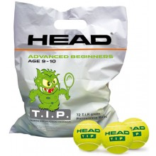 BOLSITAS DE 72 PELOTAS HEAD T.I.P GREEN