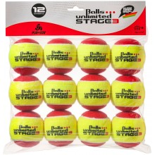 BOLSA DE 12 PELOTAS UNLIMITED STAGE 3