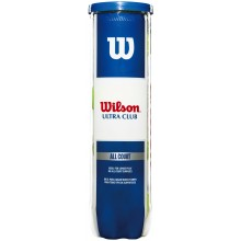 TUBO DE 4 PELOTAS WILSON ULTRA CLUB