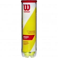 TUBO 4 PELOTAS WILSON CHAMPIONSHIP