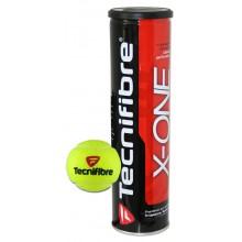Tubo de 4 pelotas Tecnifibre X-One