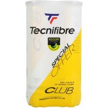 BIPACK DE 4 PELOTAS TECNIFIBRE CLUB