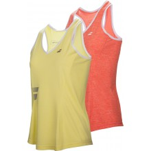 CAMISETA TIRANTES CROP BABOLAT JUNIOR NIÑA CORE CLUB