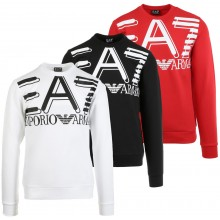 SUDADERA EA7 TRAINING FUNDAMENTAL SPORTY LOGO