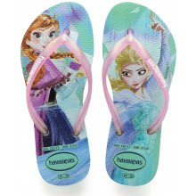 CHANCLETAS HAVAIANAS JUNIOR SLIM FROZEN