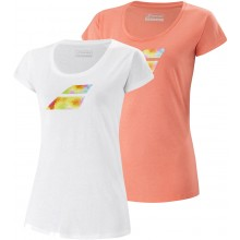 CAMISETA BABOLAT MUJER EXERCISE BIG FLAG