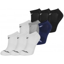 3 PARES DE CALCETINES BABOLAT INVISIBLE JUNIOR