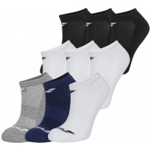 3 PARES DE CALCETINES BABOLAT INVISIBLE