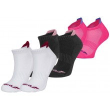 2 PARES DE CALCETINES BABOLAT MUJER INVISIBLE