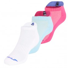 2 PARES DE CALCETINES BABOLAT MUJER INVISIBLES