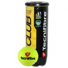 Tubo de 3 pelotas de tenis Tecnifibre club