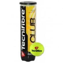 Tubo de 4 pelotas de tenis Tecnifibre club