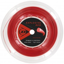 CORDAGE DUNLOP EXPLOSIVE RED