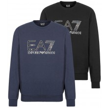SUDADERA EA7 TRAIN LOGO HOLOGRAPHIC