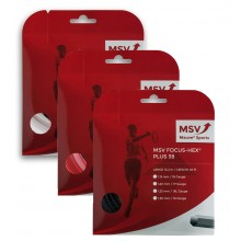 CORDAJE MSV FOCUS HEX PLUS 38 (12METROS)