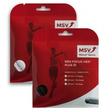 CORDAJE MSV FOCUS HEX PLUS 25 (12 METROS)