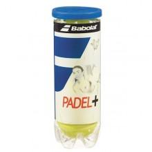TUBO DE 3 PELOTAS DE PÁDEL BABOLAT