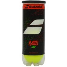 TUBO DE 3 PELOTAS DE PADEL BABOLAT PADEL TOUR
